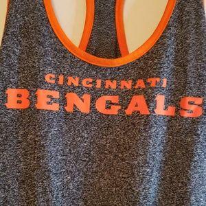 Nike Tops - Nike Cincinnati Bengals racerback tank NWT size L